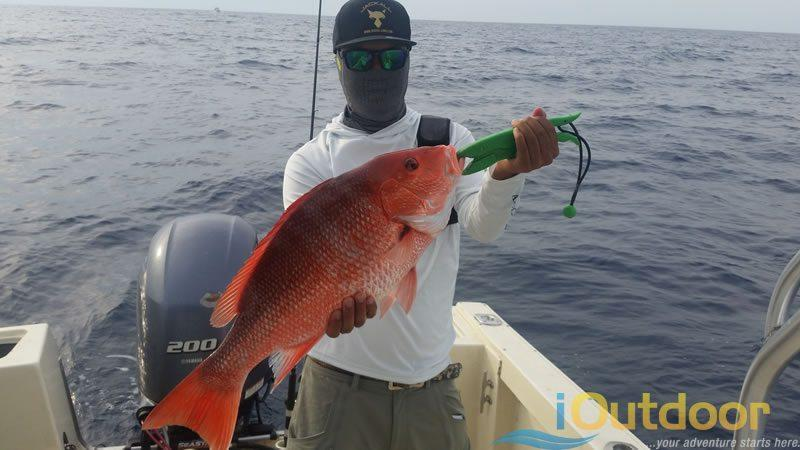 Ponce Inlet Snapper Fishing Charter in New Smyrna Beach Florida