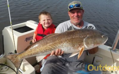 Florida Trophy Redfish Fishing Charter in New Smyrna Beach