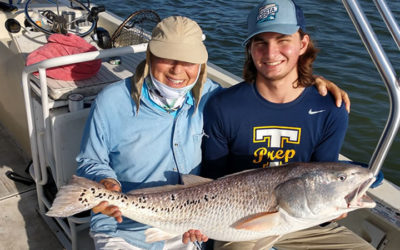 Over Sized Redfish Fishing Charter in New Smyrna Beach, Florida
