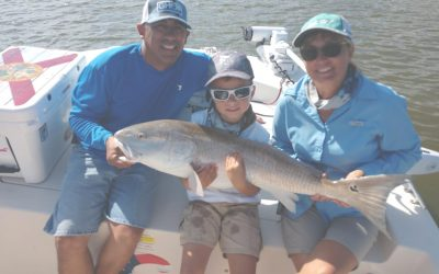 Family Redfish Fishing Charter in New Smyrna Beach, FL